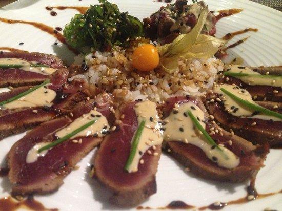Sushilounge: Tataki de ternera