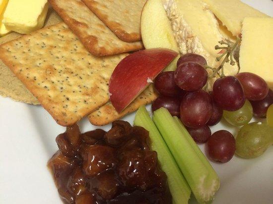 Cheyne Lane Bistro: Cheeseboard supplied by stamford cheese cellar