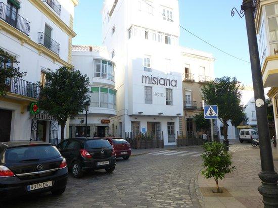 La Casa de la Favorita: Alternate check-in location at  Misiana hotel
