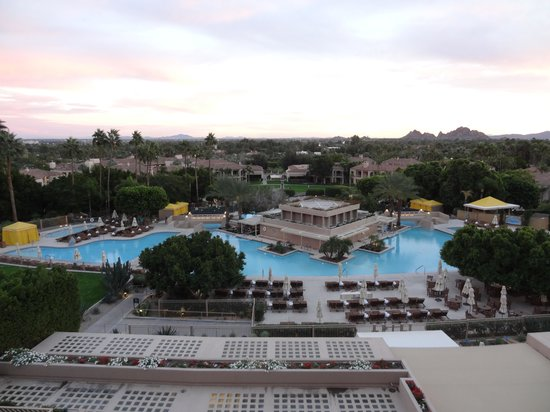 The Phoenician, Scottsdale: View from J&G Steakhouse