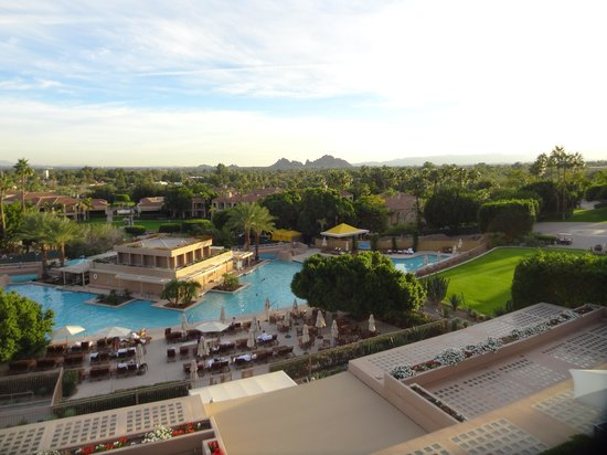 The Phoenician, Scottsdale: View from the Lobby Terrace