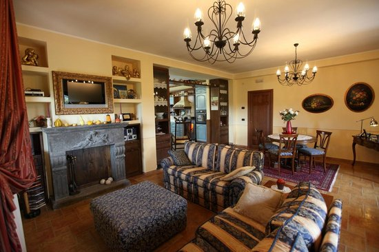 B&B Country House L'Ulivo Antico : Living