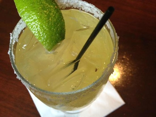 Seelbach Hilton: The bug in my margarita at the bar.