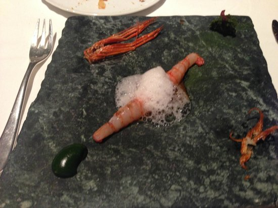 El Celler de Can Roca: Gamba