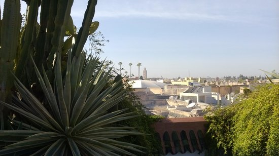 Riad Farnatchi: View from terrace