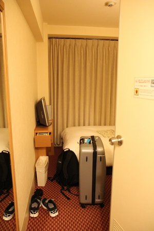 Hearton Hotel Shinsaibashi : Room & bed