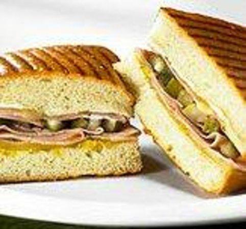 Atlanta Bread: Cubano Panini
