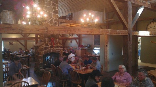 Main Dining Room Picture Of The Wooden Spoon Gentry Tripadvisor