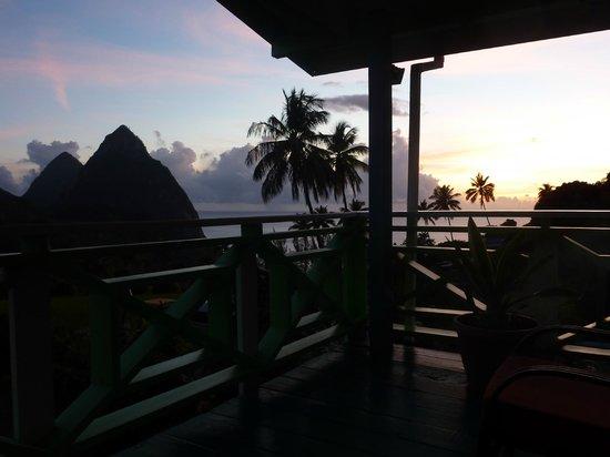 La Haut Resort : View from cottage balcony