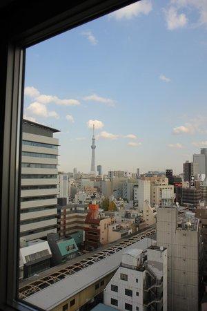 Hotel Mystays Asakusa-bashi: Skytree View