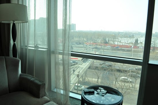 Lake View Hotel: Vista da sacada do apartamento
