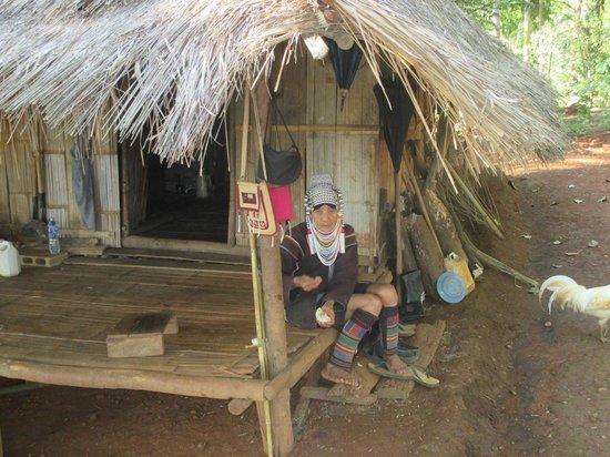 "Union Hilltribe Villages: Another porch ""scene"""