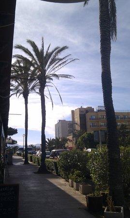 Brisas del Mar: Not far from Cala Agulla