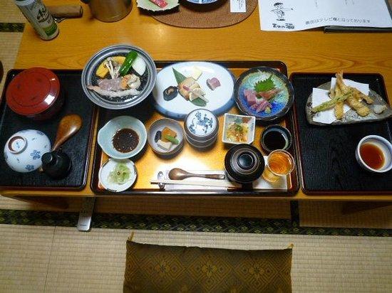 Matsunoyu: 夕食