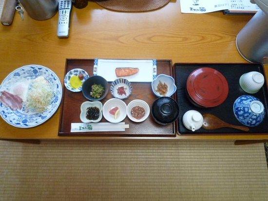 Matsunoyu: 朝食