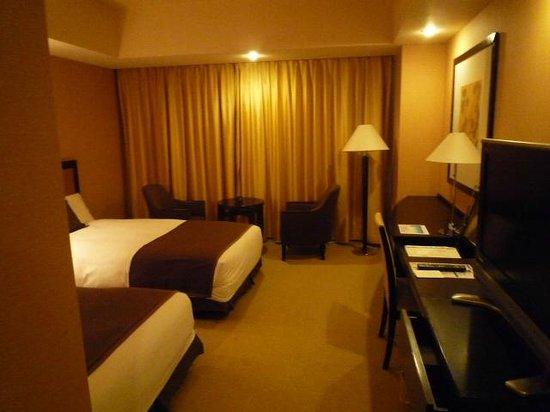 JR Tower Hotel Nikko Sapporo: ツインの北向きの部屋