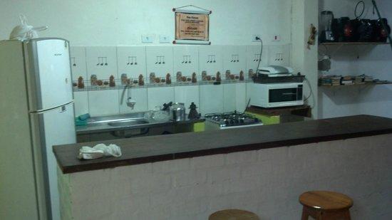 Big Hostel Brasil: Cozinha
