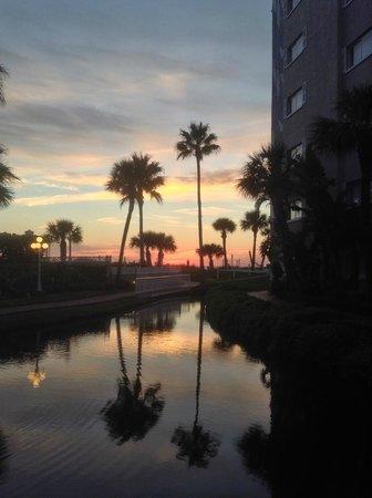 TradeWinds Island Grand Resort: Gorgeous sunset!