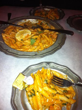 Palazzio Trattoria Italiana: Generous portions; great taste!