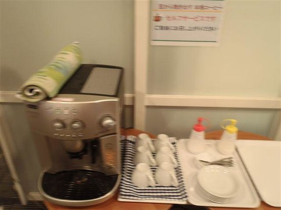 Kochi Ryoma Hotel: コーヒーのサービスがあります。