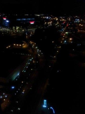 JW Marriott Indianapolis : 32nd floor view