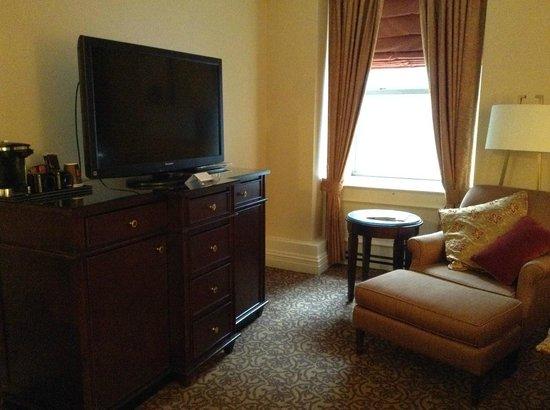 Omni William Penn Hotel: Room furnishings