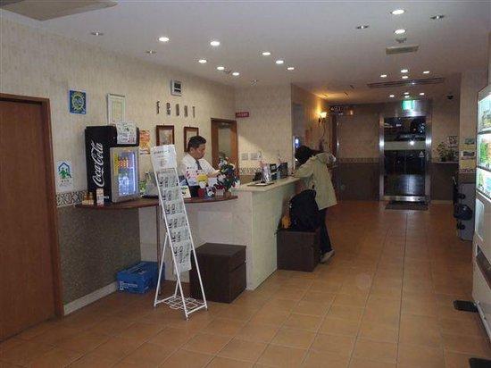Smile Hotel Nishiakashi : ホテルロビー