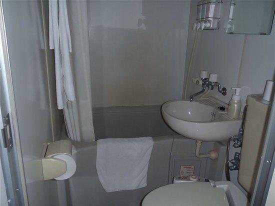 Smile Hotel Nishiakashi : バスルーム