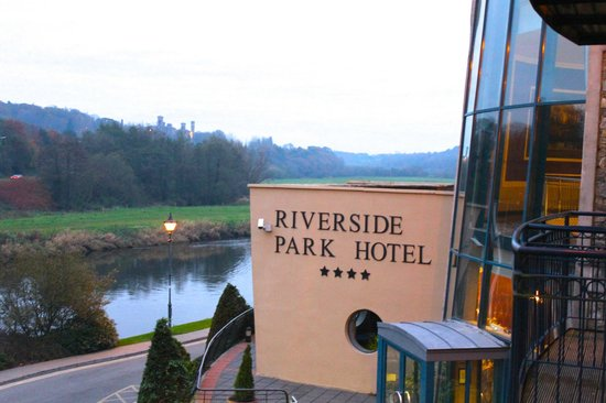 The Riverside Park Hotel & Leisure Club: One view from our balcony