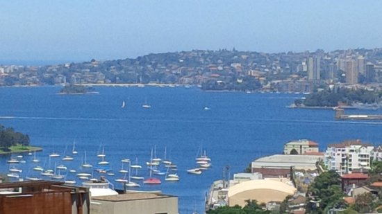 Rydges North Sydney: View from 9th floor