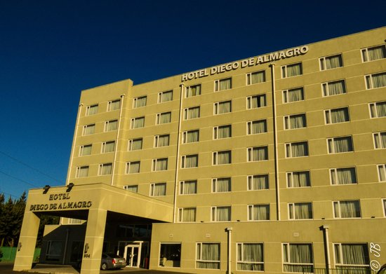 Hotel Diego de Almagro Concepcion: from the front of the hotel