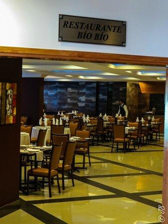 Hotel Diego de Almagro Concepcion: Restaurante Bio Bio from inside the hotel lobby
