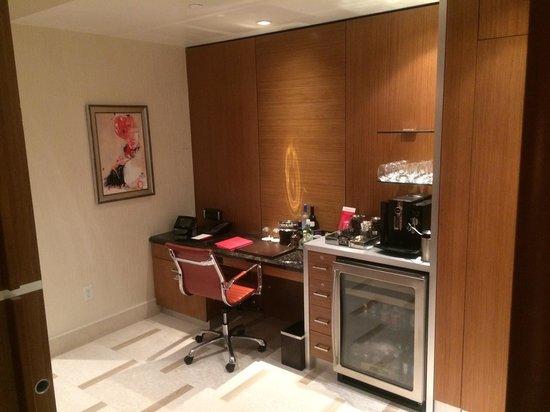 Hotel32 at Monte Carlo: Minibar and Desk