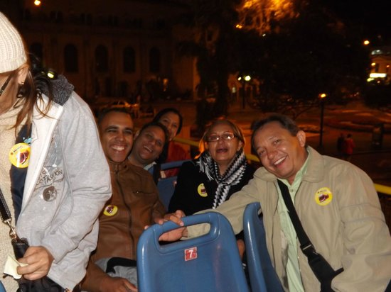 Hotel Vila Santa Miraflores: EN EL MIRABUS