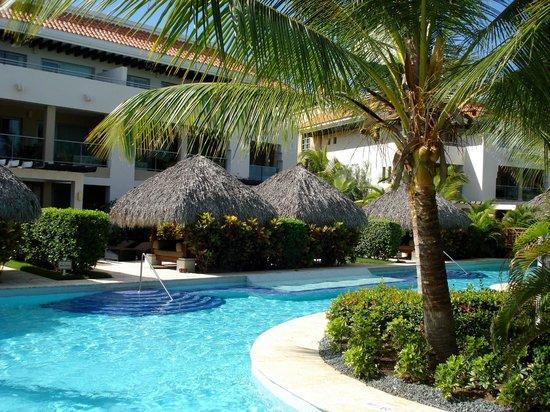 The Reserve at Paradisus Palma Real : Pool behind hotel room