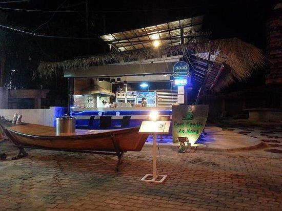 Ao Nang Boat Noodle: entrance of the shop :)
