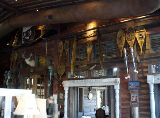 White River Fish House : outdoor sports decor