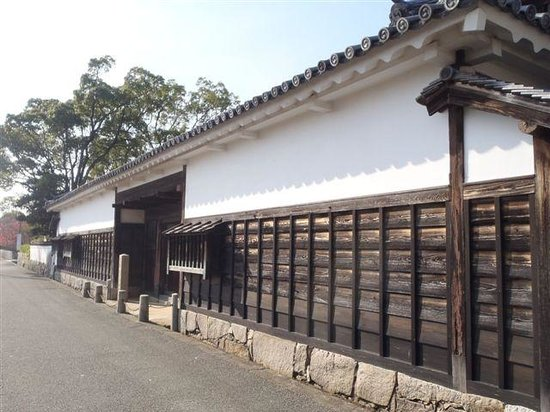 Remains of Ako Castle: 大石邸長屋門