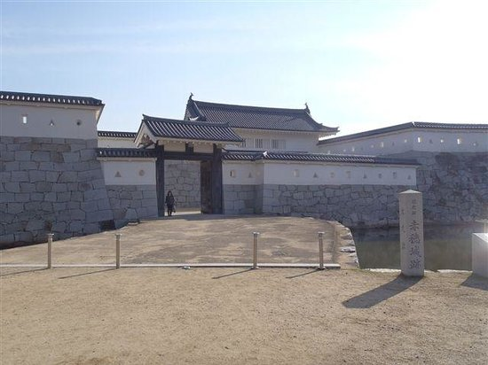 Remains of Ako Castle: 本丸門