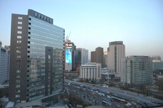 The Westin Beijing Chaoyang: view from my room on the 10th floor