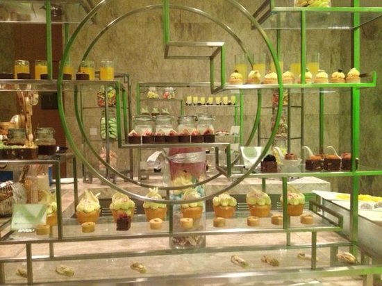 The Westin Beijing Chaoyang: What dessert would you pick from the dessert bar?