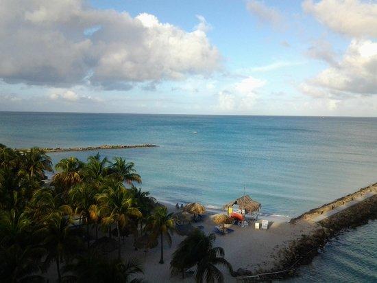 Caribbean sea view from room 963 picture of divi aruba for Aruba divi phoenix