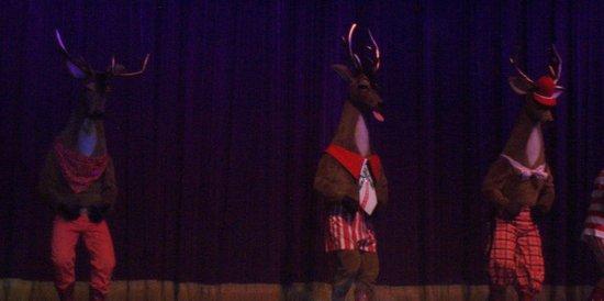 Shoji Tabuchi Theater: dancing reindeer