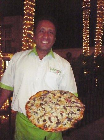 Italianissimo: Henrique Antonio, our nice waiter