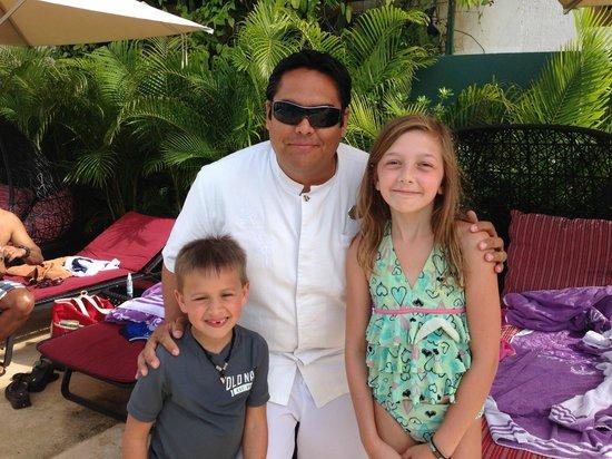 Paradisus Playa Del Carmen La Esmeralda: Family Concierge Staff - Orion (our kids were so sad to say goodbye to him)