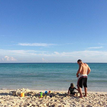 Paradisus Playa Del Carmen La Esmeralda: Our beautiful beach
