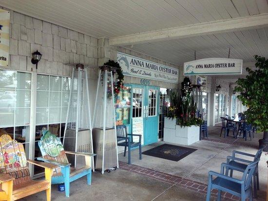 Anna Maria Oyster Bar - Cortez : Porch View