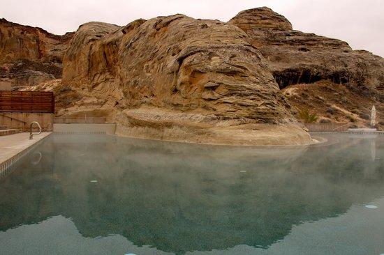 Amangiri: heated pool