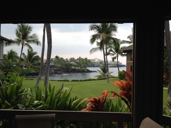 Kanaloa at Kona: View from the condo unit