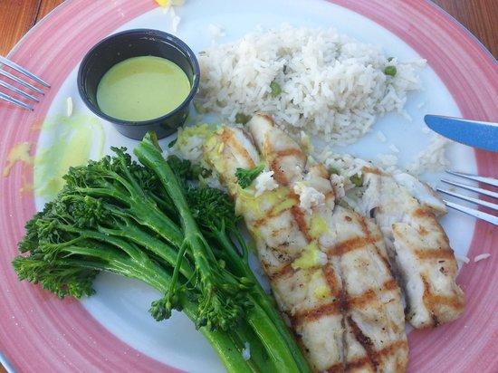Morada Bay : Delicious meal.
